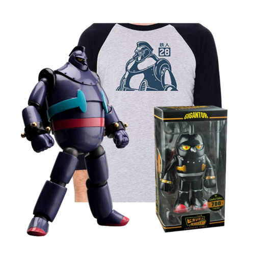 Retro Gigantor and Tetsujin 28-Go Gift Ideas & Products