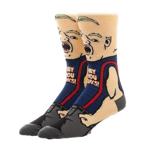 "Goonies Sloth ""Hey You Guys"" Crew Socks"