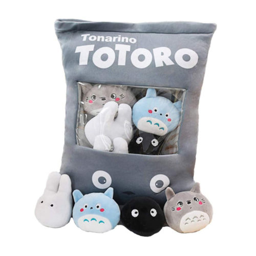 My Neighbor Totoro Pillow with Plush Toys