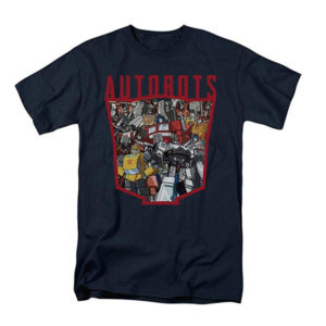 Transformers Autobots T-Shirt & Stickers