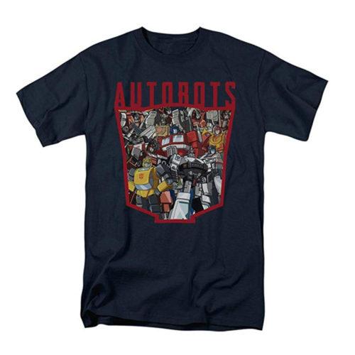Transformers Autobots T-Shirt & Stickers