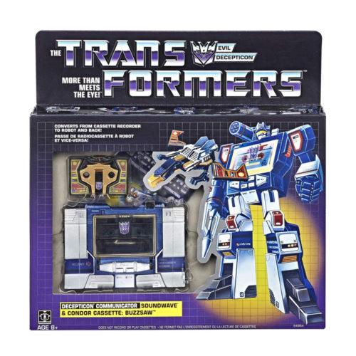 Transformers Decepticon Soundwave Cassette G1 Reissue