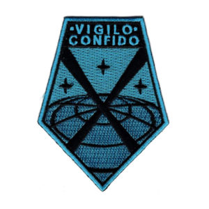 "XCOM Crew Uniform Patch ""Vigilo Confido"""