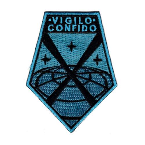 """XCOM Crew Uniform Patch """"Vigilo Confido"""""""