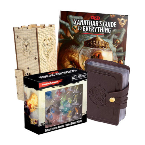 Advanced Dungeons & Dragons Props for Veteran Players