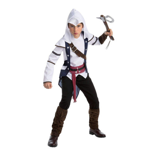 Assassin's Creed Connor Costume with Accessories
