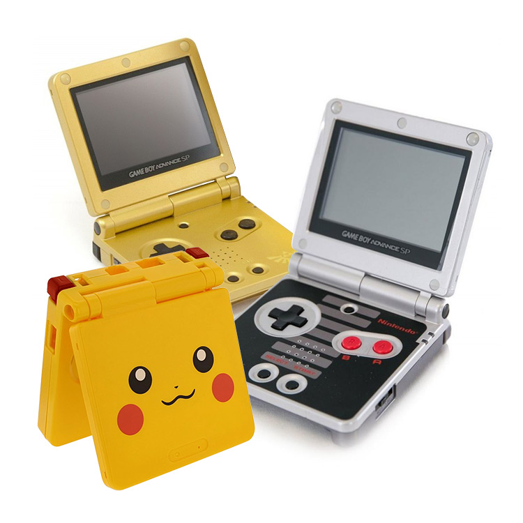 Limited Edition Game Boy Advance SP Consoles