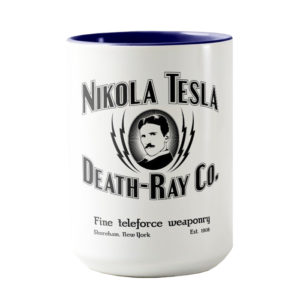 Nikola Tesla Death-ray Co. Travel Mug