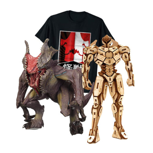 Pacific Rim Apparel, Actions Figures and other Gift Ideas