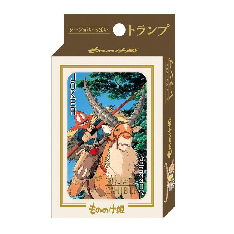 Princess Mononoke Playing Cards with Scenes