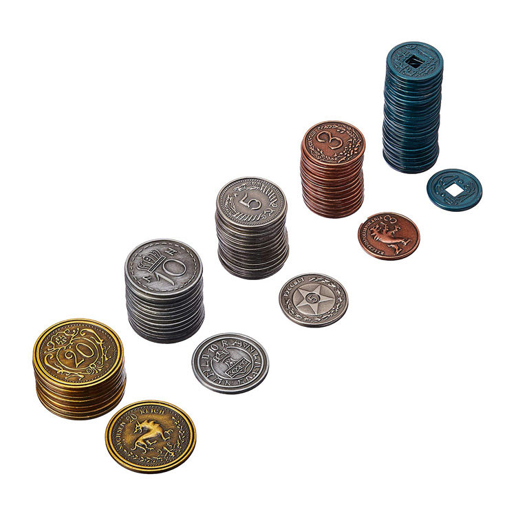 Prop Metal Coins for RPG and Games by Stonemaier