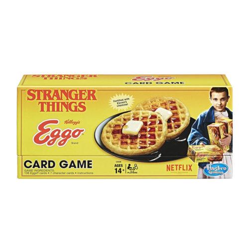 Stranger Things Eggo Card Game by Hasbro