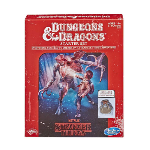 Stranger Things Dungeons & Dragons Starter Set by Hasbro