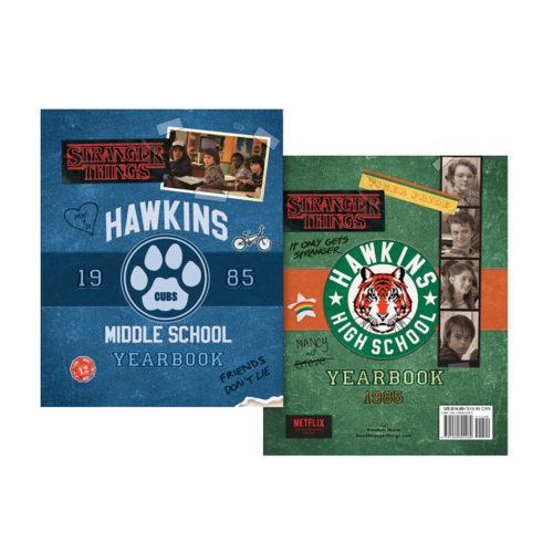 Stranger Things Hawkins Yearbook