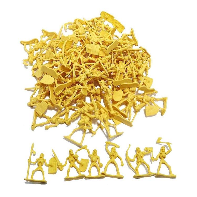 Tabletop / RPG 100 Piece Army Skeleton Warriors