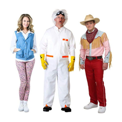 Back to the Future Costumes - Doc Brown, McFly and More