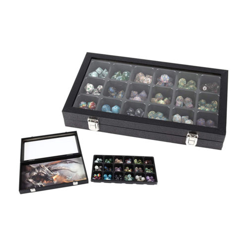 Dice Display Case and Storage Box by Forged Dice Co.