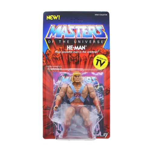 """He-Man Masters of The Universe Vintage 5 1/2"""" Action Figure"""