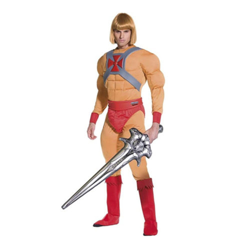 He-Man Costume with Inflatable Sword