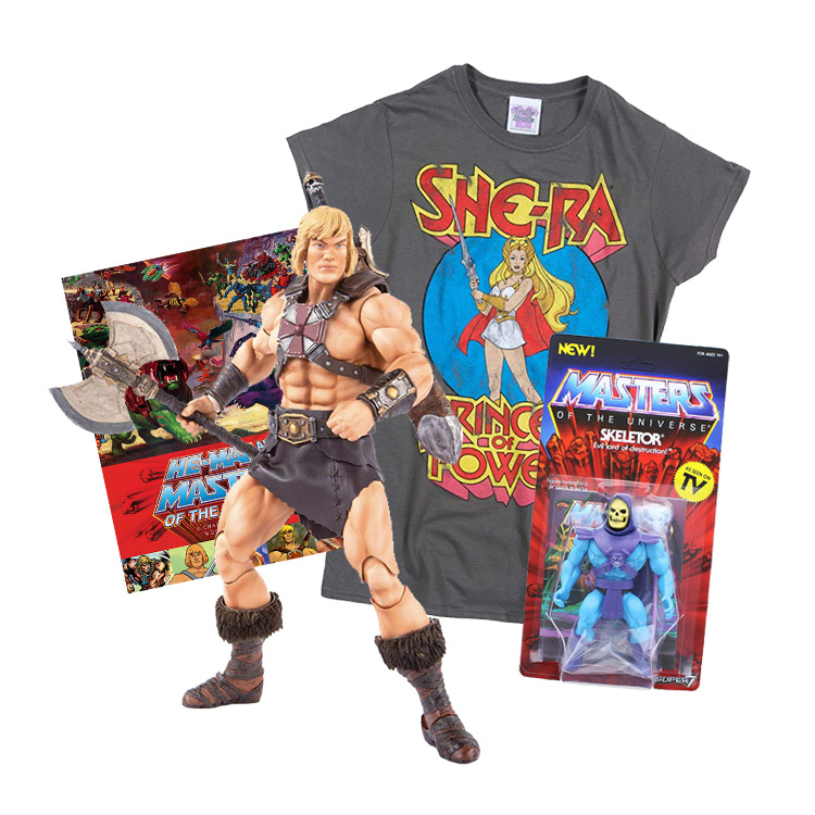 Mighty He-Man and Masters of the Universe Gift Ideas and Merch
