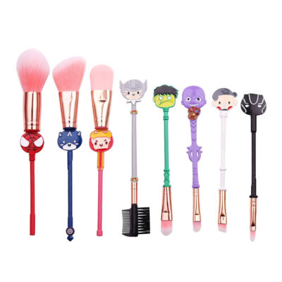 Marvel Avengers Professional Makeup Brushes 8 pcs