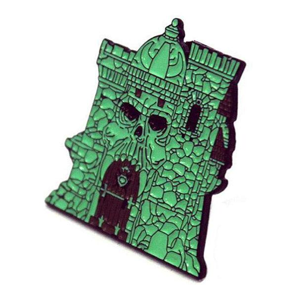 Masters of the Universe Castle Grayskull Enamel Pin