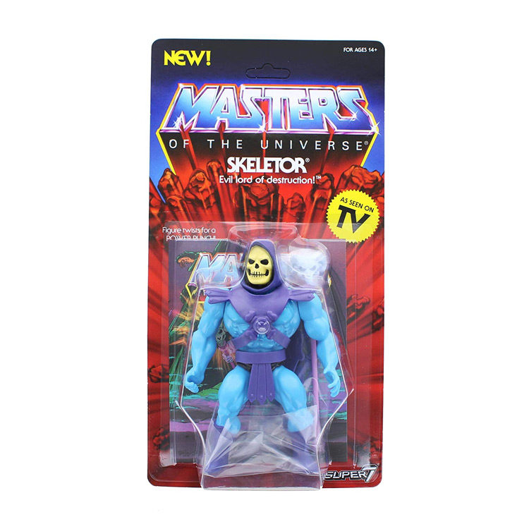 "Skeletor Masters of The Universe Vintage 5 1/2"" Action Figure"