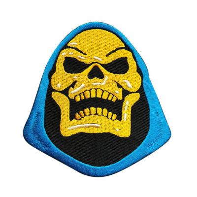 Masters of The Universe Skeletor Embroidered Patch