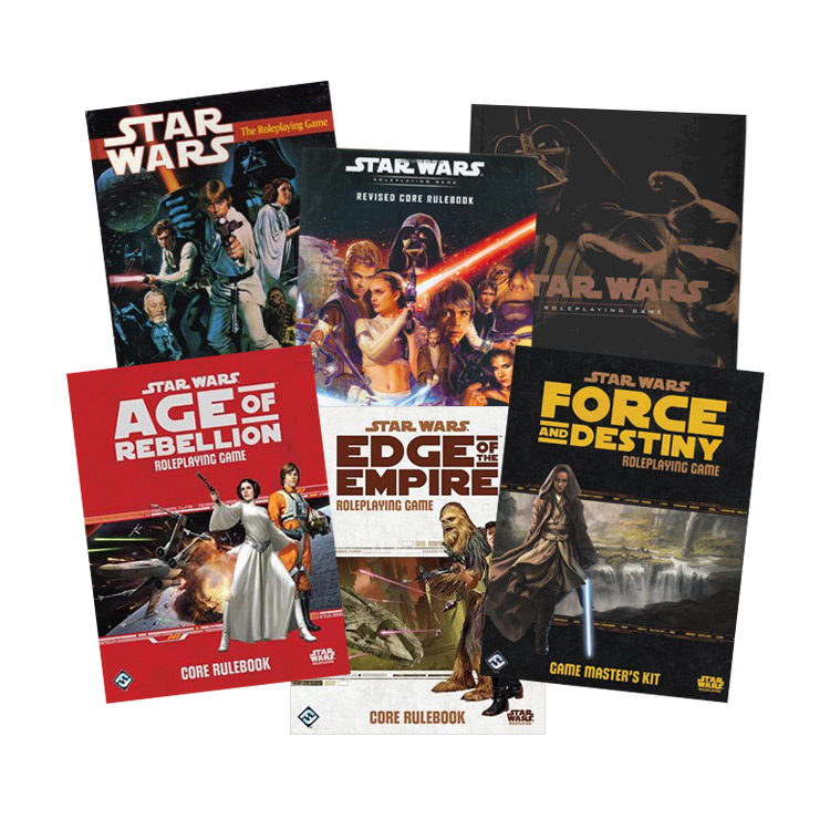 """Everything you Need for a Star Wars """"D&D"""" Style Roleplaying Game"""