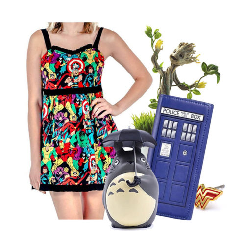 Original Geek Gift Ideas for Her: Presents for Geeky Women 2019