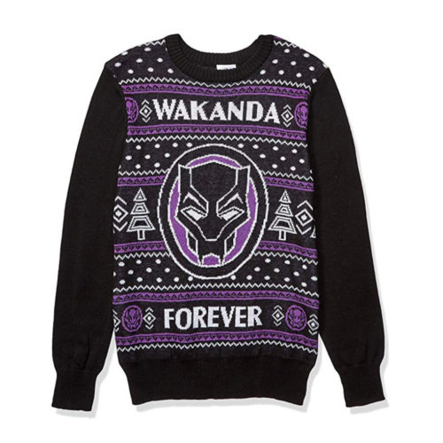Black Panther Ugly Christmas Sweater by Marvel