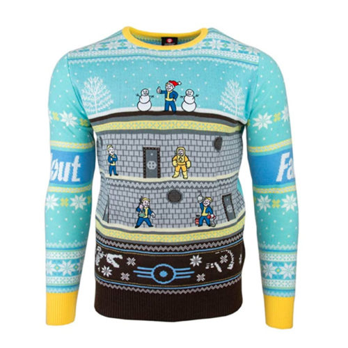 Fallout Vault-Tech Christmas Ugly Sweater
