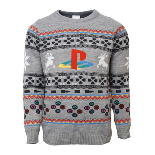 Official PlayStation Console Knitted Christmas Jumper
