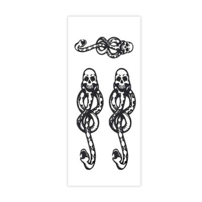 Dark Mark Death Eater Temporary Tattoos x4