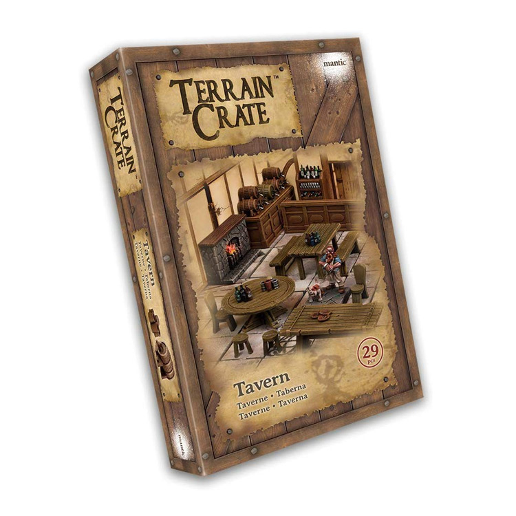 D&D Tabletop Miniatures: TerrainCrate Tavern