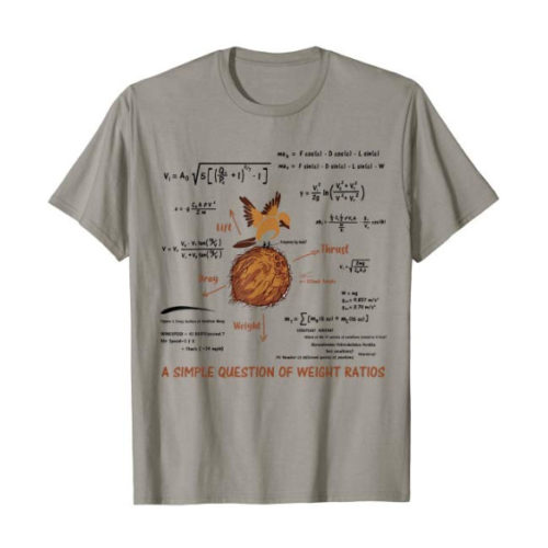 Monty Python A Simple Question Of Weight Ratios T-Shirt