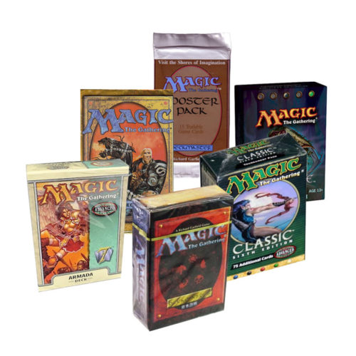 All Magic the Gathering Sets, Decks, Booster Packs, Editions and Expansions