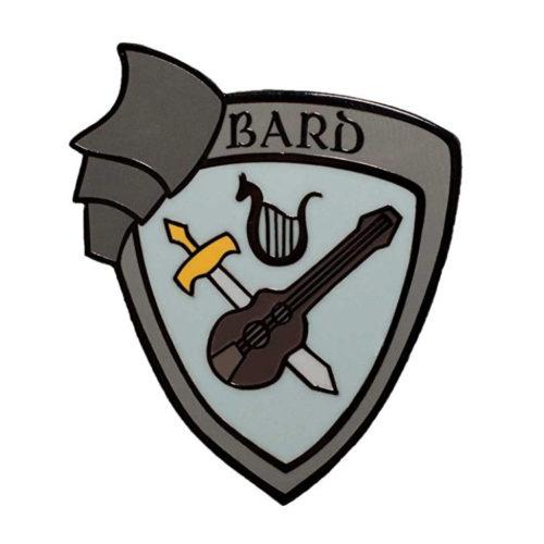 Bard Enamel Pin