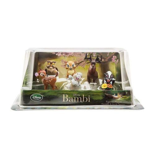 Collectible Disney Bambi Playset 7x Figures