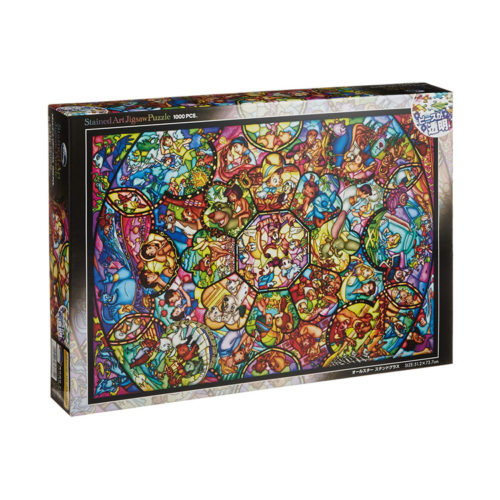Disney Stained Glass Jigsaw Puzzle 1000 Pieces