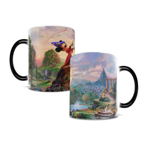 Mickey Mouse Fantasia Heat Changing Mug 11 Ounces