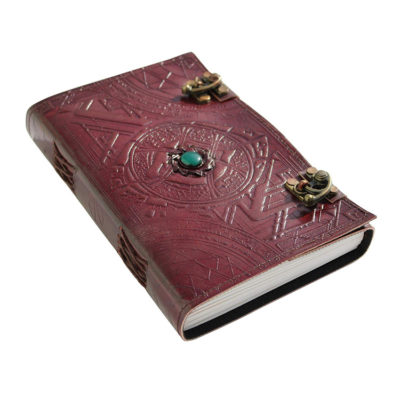 Doctor Strange Eye of Agamotto Embossed Leather Journal