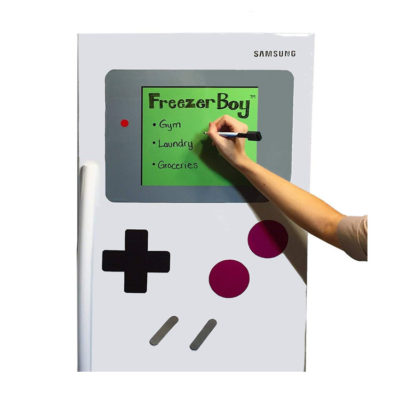 FreezerBoy Refrigerator Magnets and Whiteboard