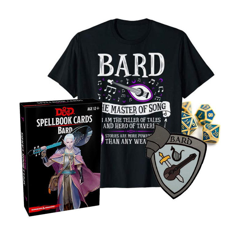 Gift Ideas for the Bard in your D&D Party
