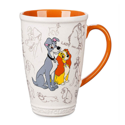 Lady and the Tramp Ceramic Mug Disney