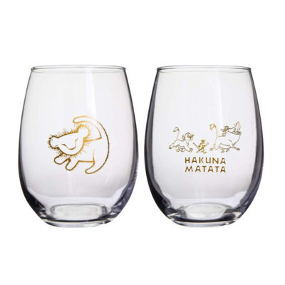 The Lion King Collectible Wine Glass Set