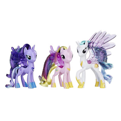 My Little Pony Glitter Princess Celestia, Luna and Cadance 3 Pack