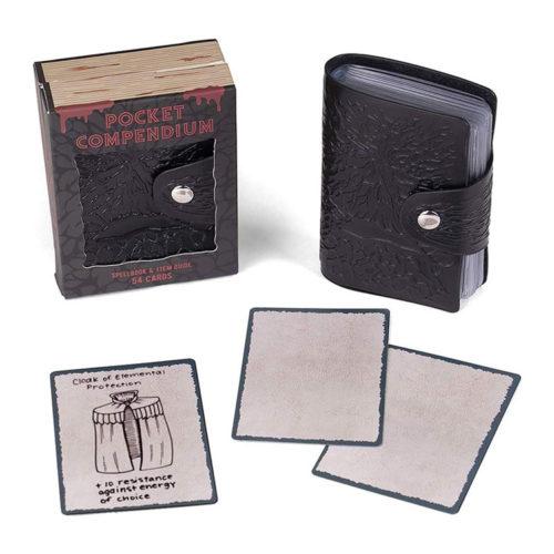 Customizable RPG Spellbook Pocket Compendium