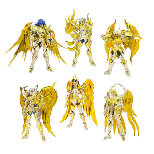 All the Bandai Saint Seiya Golden Saints and Where to Get Them