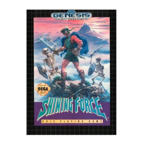 Sega Genesis Shining Force Game Megadrive